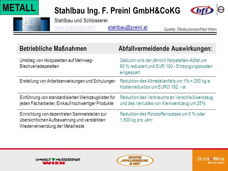 Stahlbau Ing. F. Preinl GmbH&CoKG