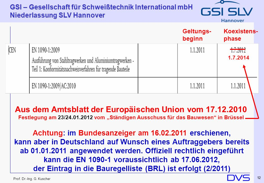 Aus dem Amtsblatt der Europäischen Union vom 17.12.2010