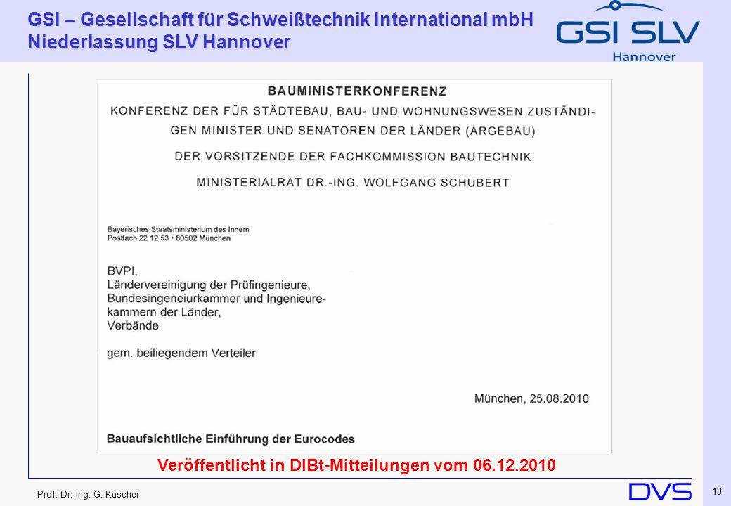 Veröffentlicht in DIBt-Mitteilungen vom 06.12.2010