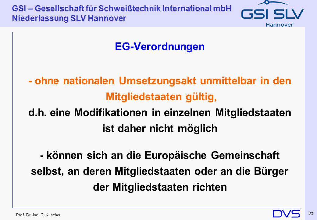 EG-Verordnungen