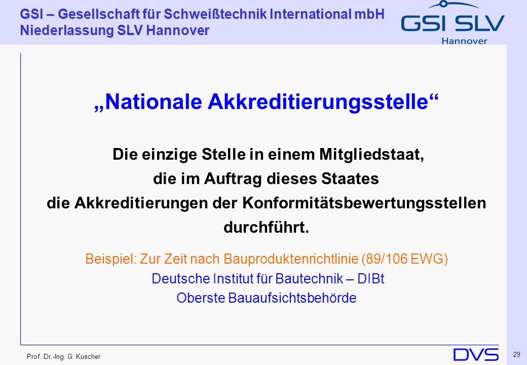 """Nationale Akkreditierungsstelle"