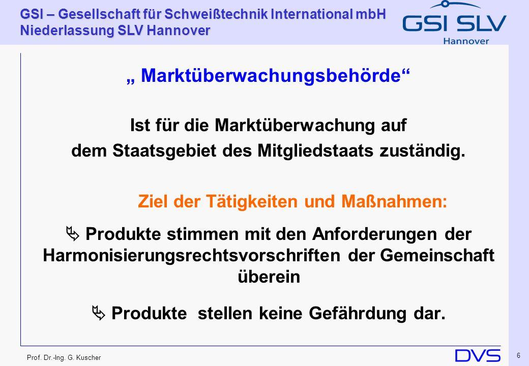 """"""" Marktüberwachungsbehörde"""