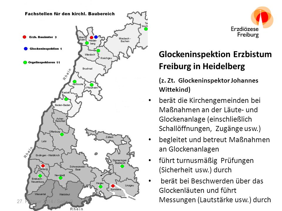 Glockeninspektion Erzbistum Freiburg in Heidelberg