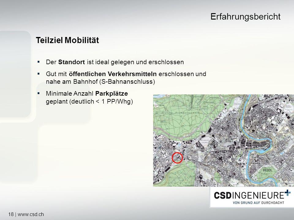 Erfahrungsbericht Teilziel Mobilität