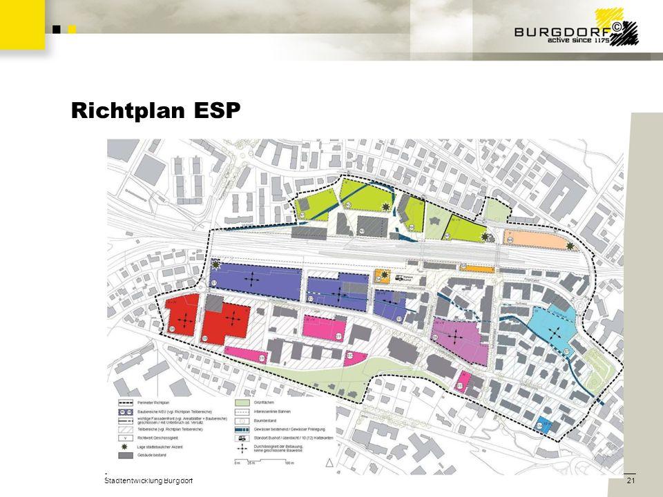 Richtplan ESP Stadtentwicklung Burgdorf