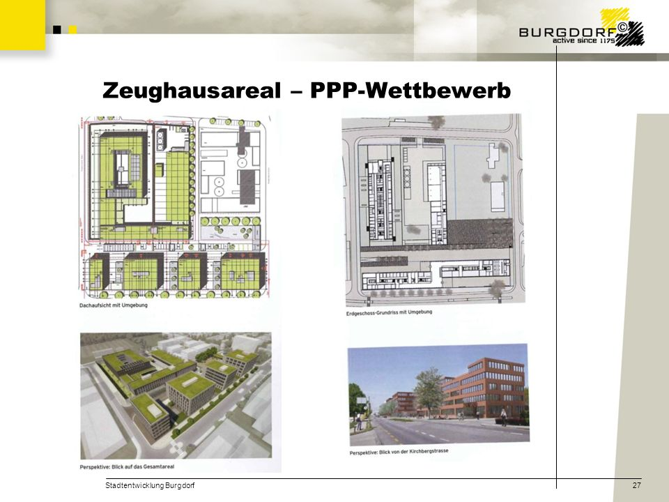 Zeughausareal – PPP-Wettbewerb