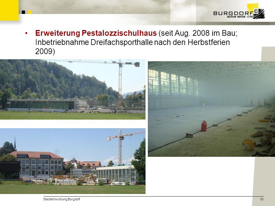 Erweiterung Pestalozzischulhaus (seit Aug