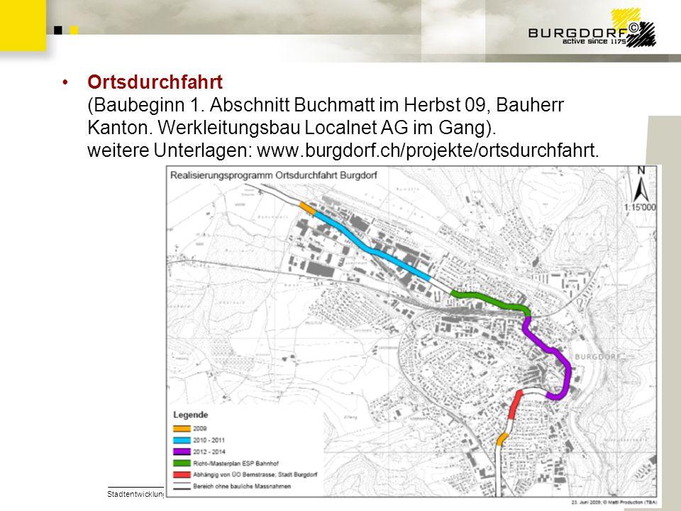 Ortsdurchfahrt (Baubeginn 1