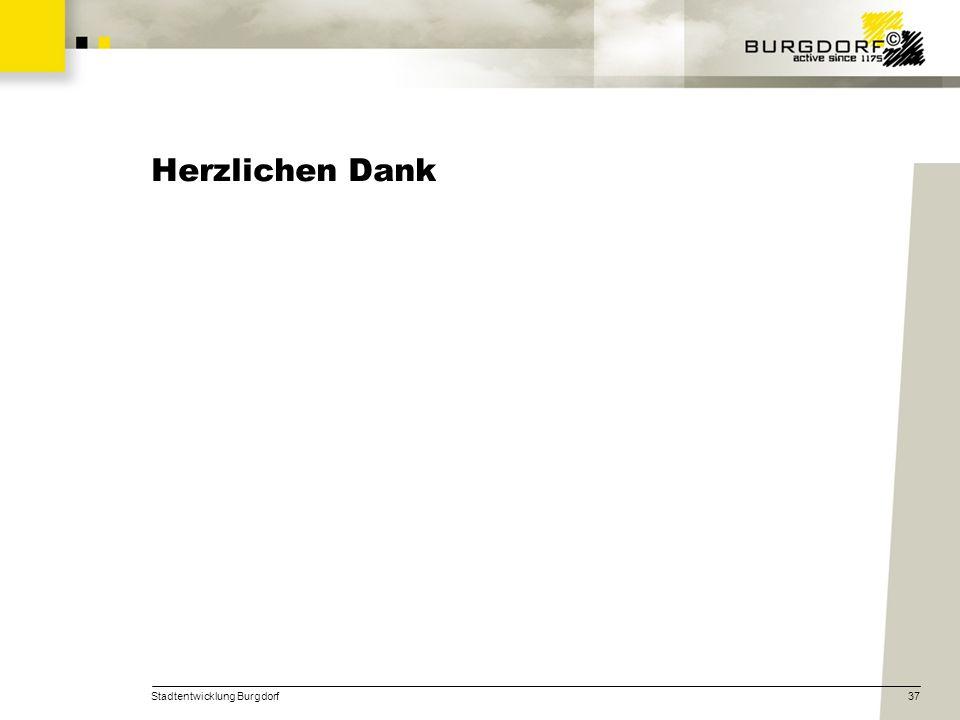 Herzlichen Dank Stadtentwicklung Burgdorf