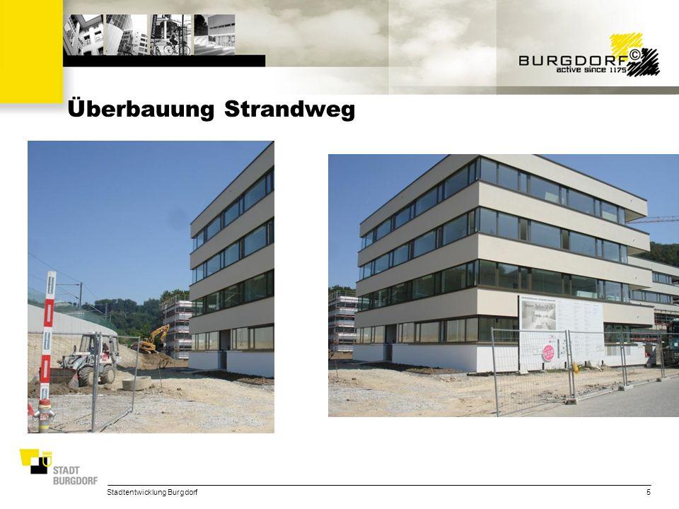 Überbauung Strandweg Stadtentwicklung Burgdorf