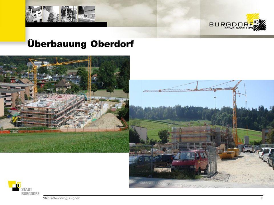 Überbauung Oberdorf Stadtentwicklung Burgdorf