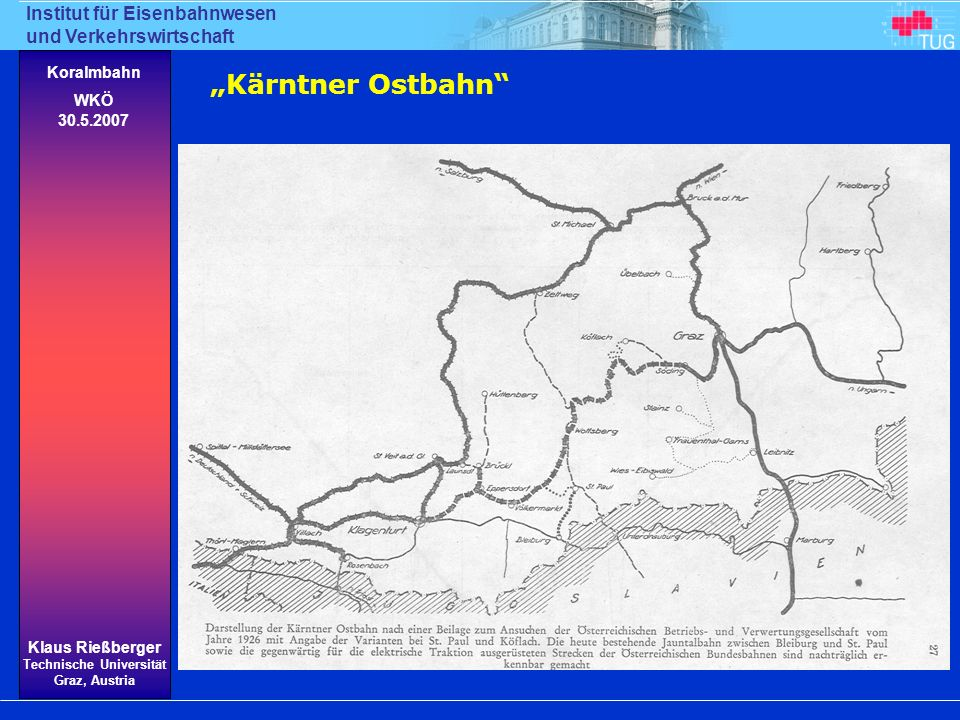 """""""Kärntner Ostbahn"""