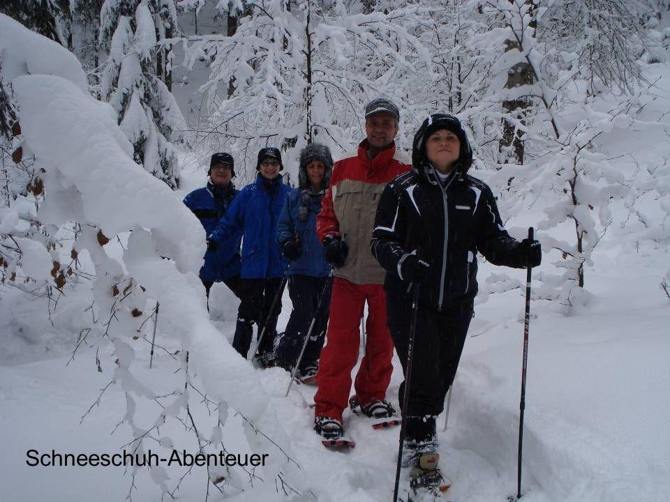 Schneeschuh-Abenteuer