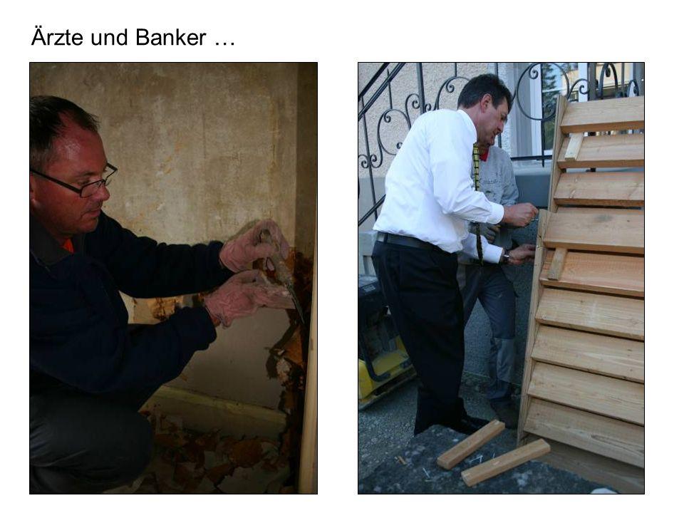 Ärzte und Banker …
