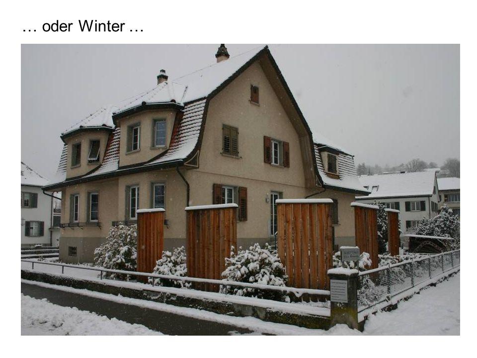 … oder Winter …