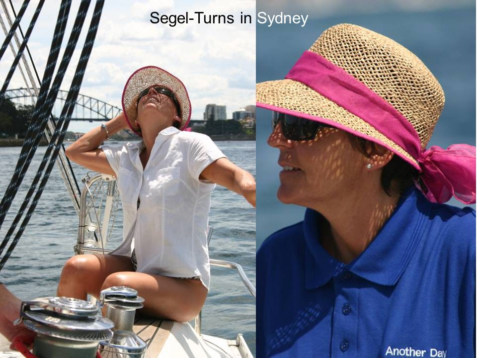 Segel-Turns in Sydney