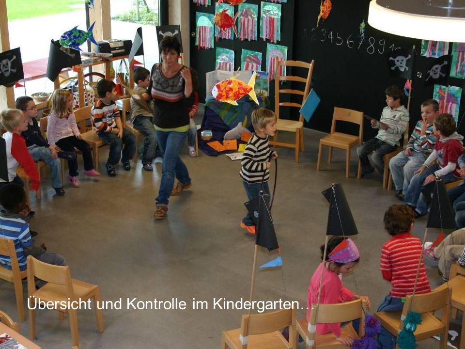 Übersicht und Kontrolle im Kindergarten…
