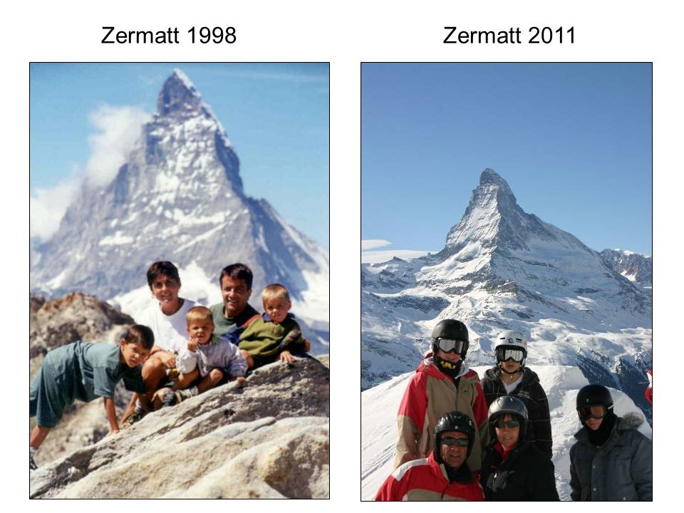 Zermatt 1998 Zermatt 2011