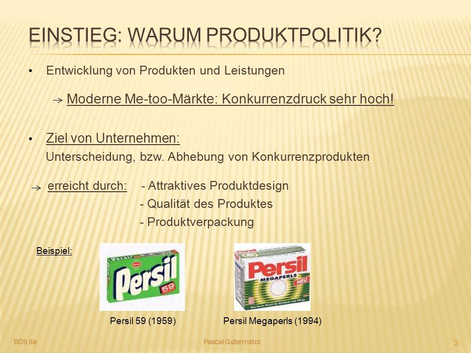 Einstieg: Warum Produktpolitik