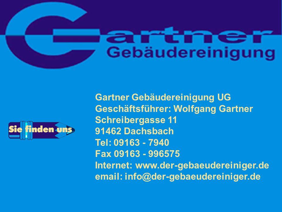 Gartner Gebäudereinigung UG