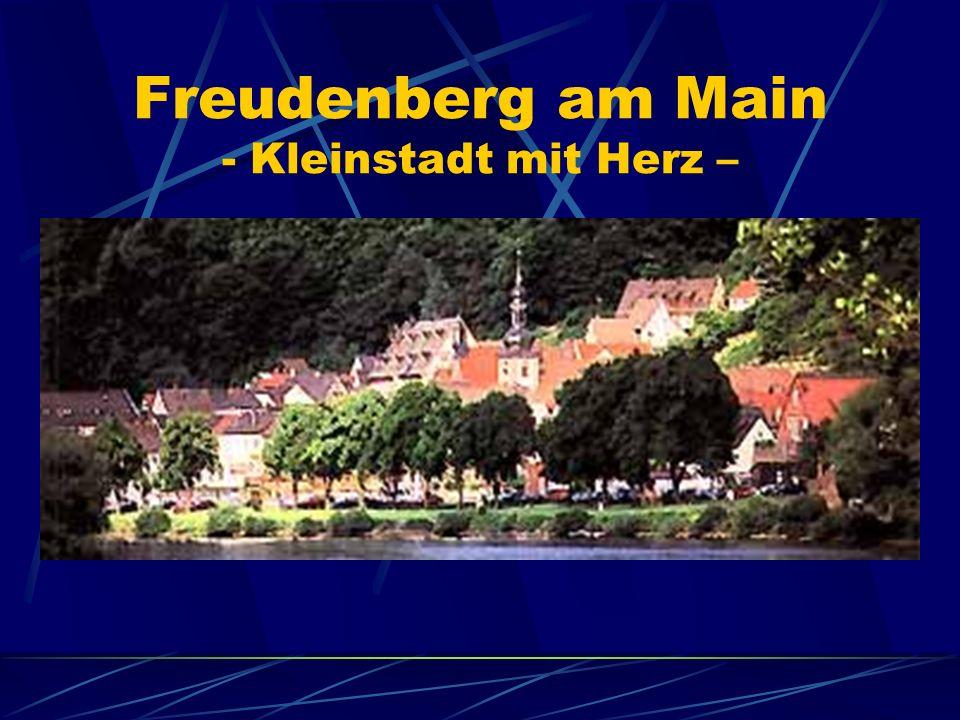 Freudenberg am Main - Kleinstadt mit Herz –