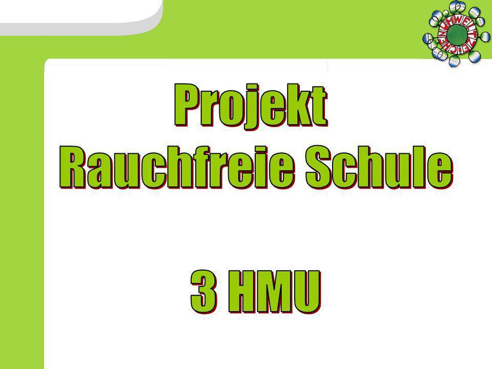 Projekt Rauchfreie Schule 3 HMU