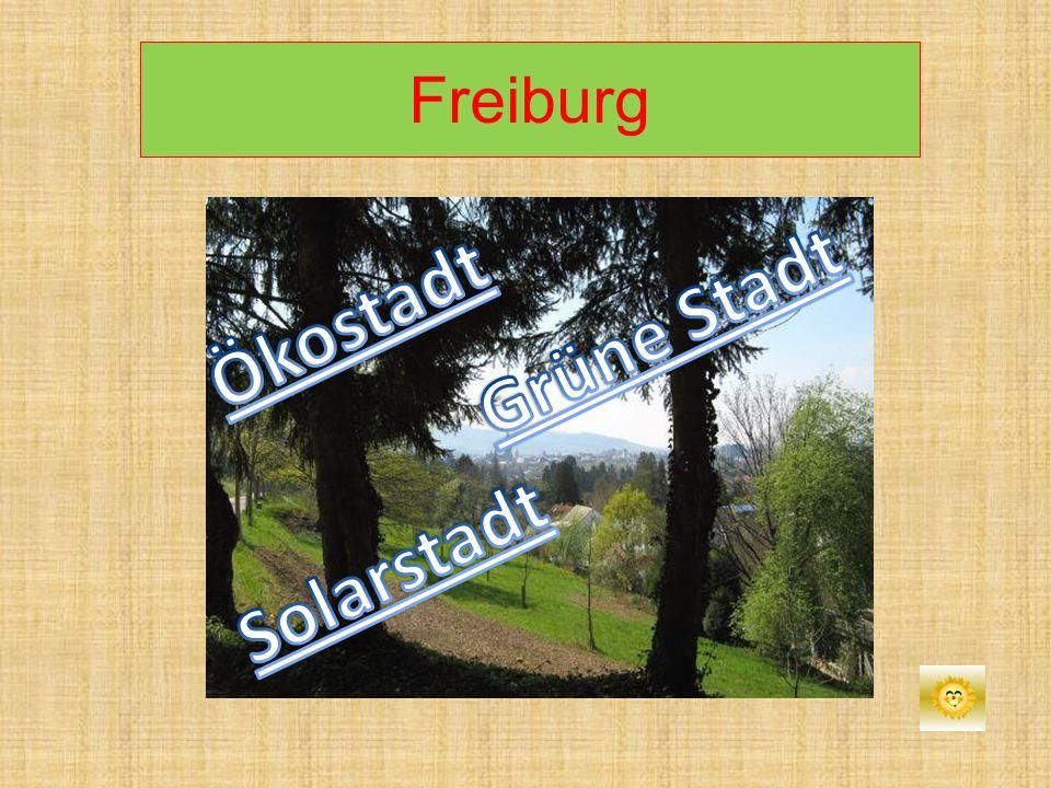 Ökostadt Grüne Stadt Solarstadt