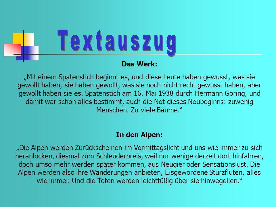 Textauszug Das Werk:
