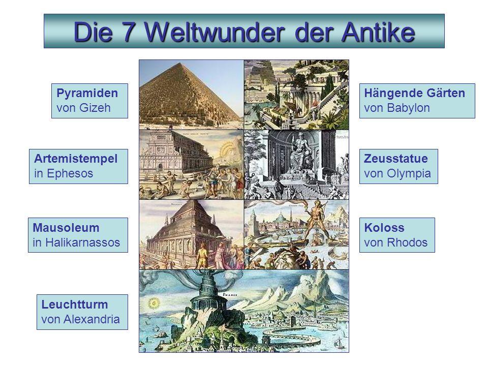 7 Wunder Der Welt
