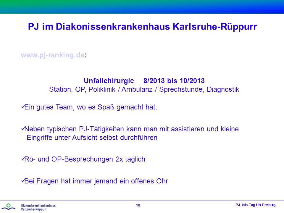 Unfallchirurgie 8/2013 bis 10/2013