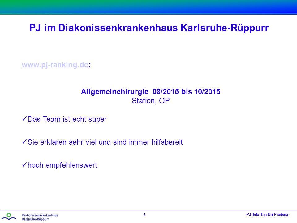 Allgemeinchirurgie 08/2015 bis 10/2015