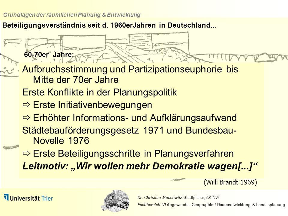 Beteiligungsverständnis seit d. 1960erJahren in Deutschland...