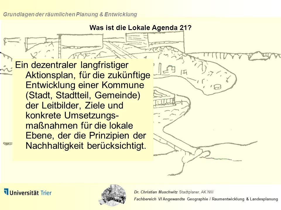 Was ist die Lokale Agenda 21