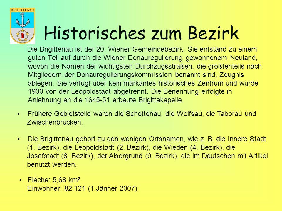 Historisches zum Bezirk