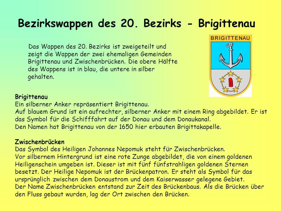 Bezirkswappen des 20. Bezirks - Brigittenau