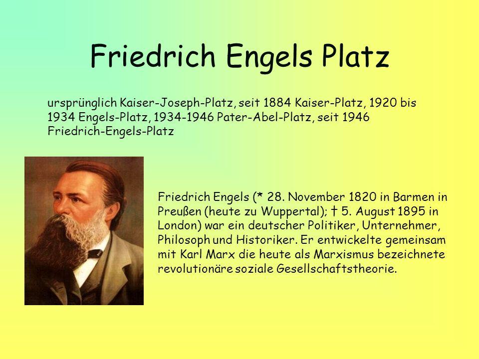 Friedrich Engels Platz