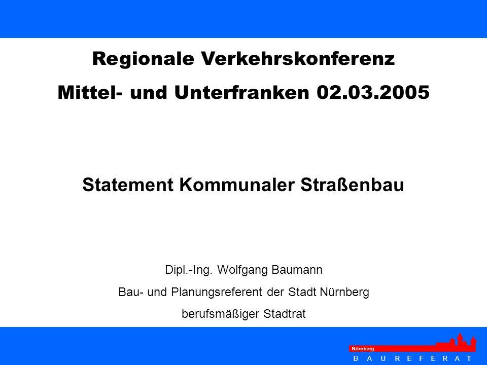 Statement Kommunaler Straßenbau