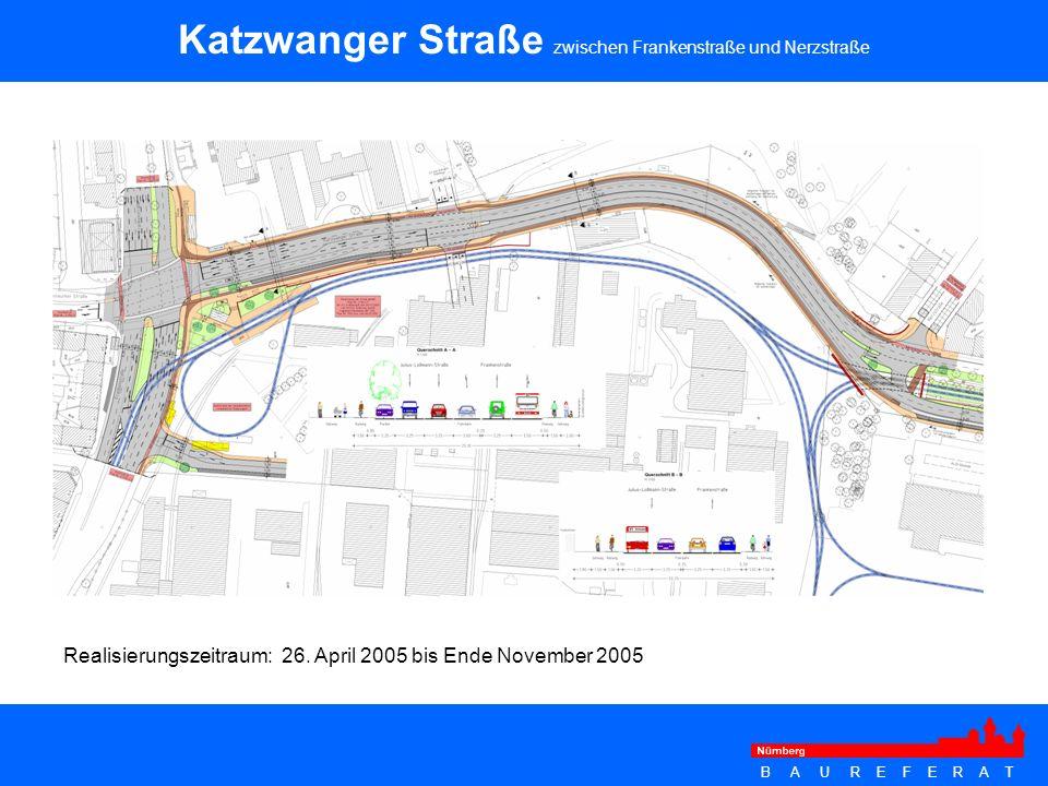 Katzwanger Straße zwischen Frankenstraße und Nerzstraße