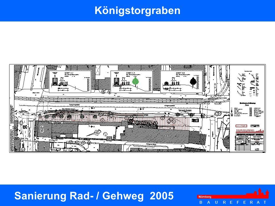 Sanierung Rad- / Gehweg 2005