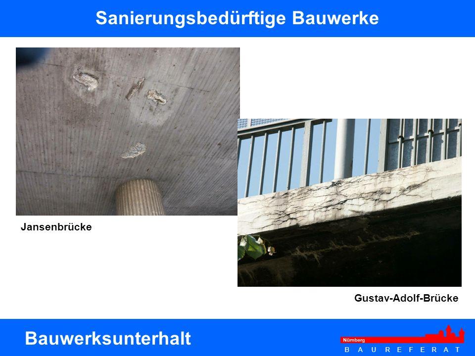 Sanierungsbedürftige Bauwerke