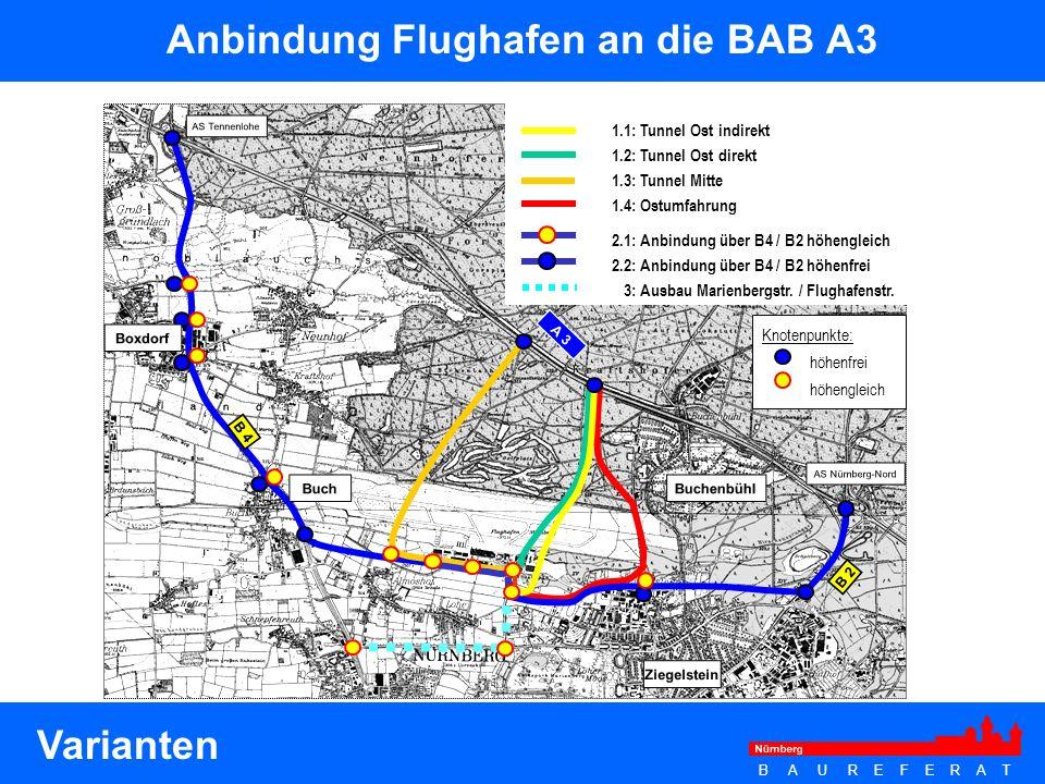 Anbindung Flughafen an die BAB A3