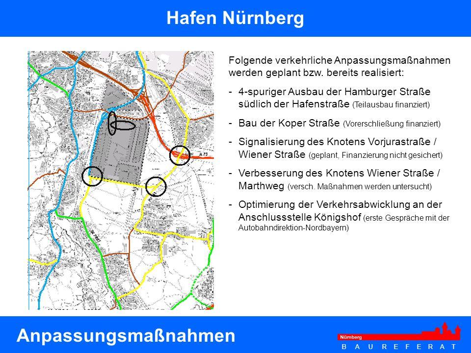 Hafen Nürnberg Anpassungsmaßnahmen