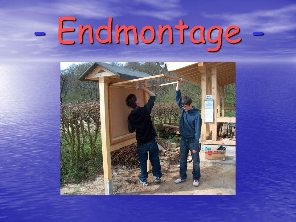- Endmontage -
