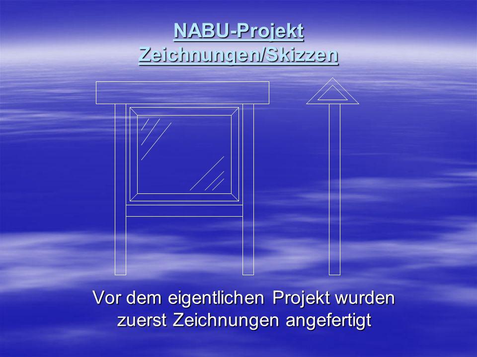 NABU-Projekt Zeichnungen/Skizzen