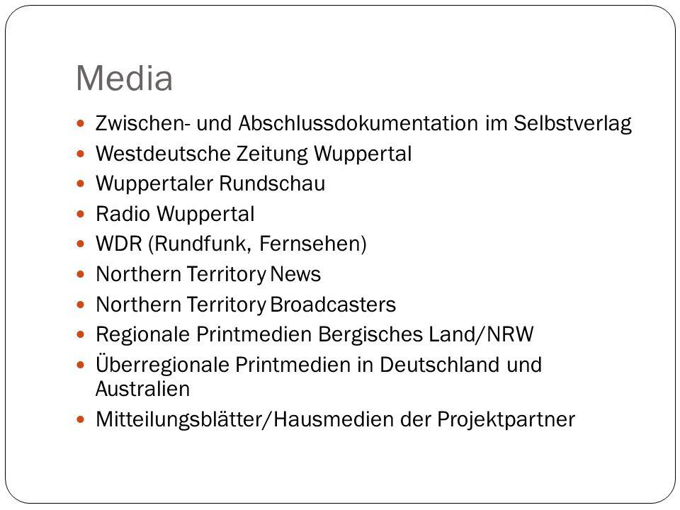 Media Zwischen- und Abschlussdokumentation im Selbstverlag