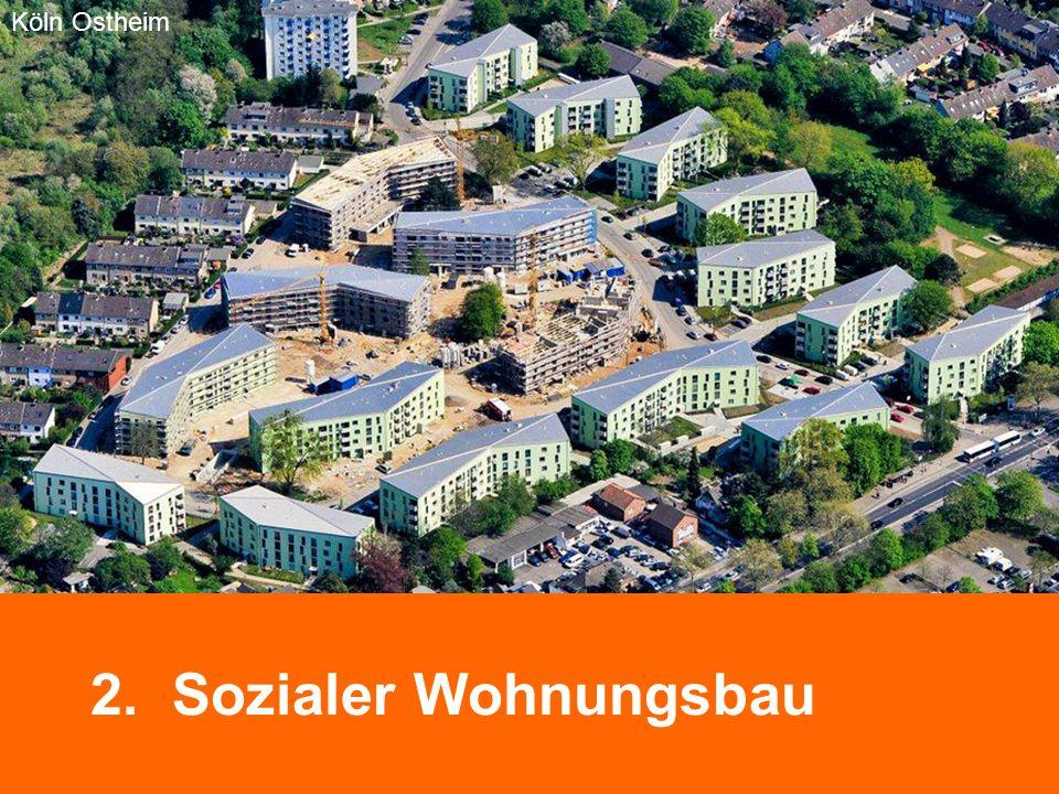 Köln Ostheim Bremen Neue Vahr 2. Sozialer Wohnungsbau