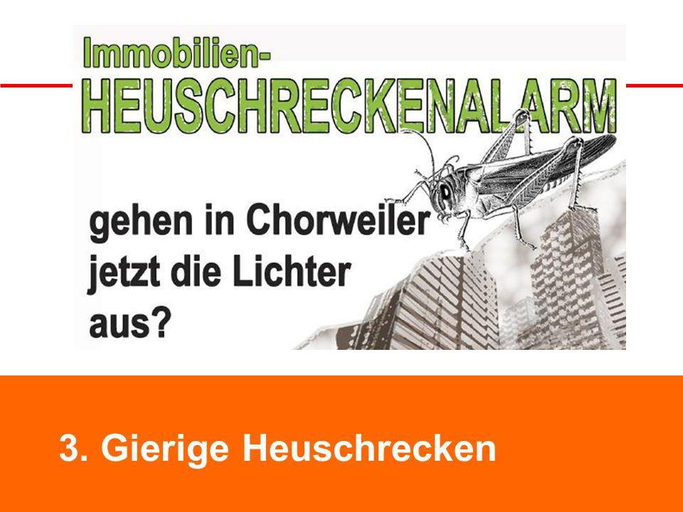Bremen Neue Vahr 3. Gierige Heuschrecken