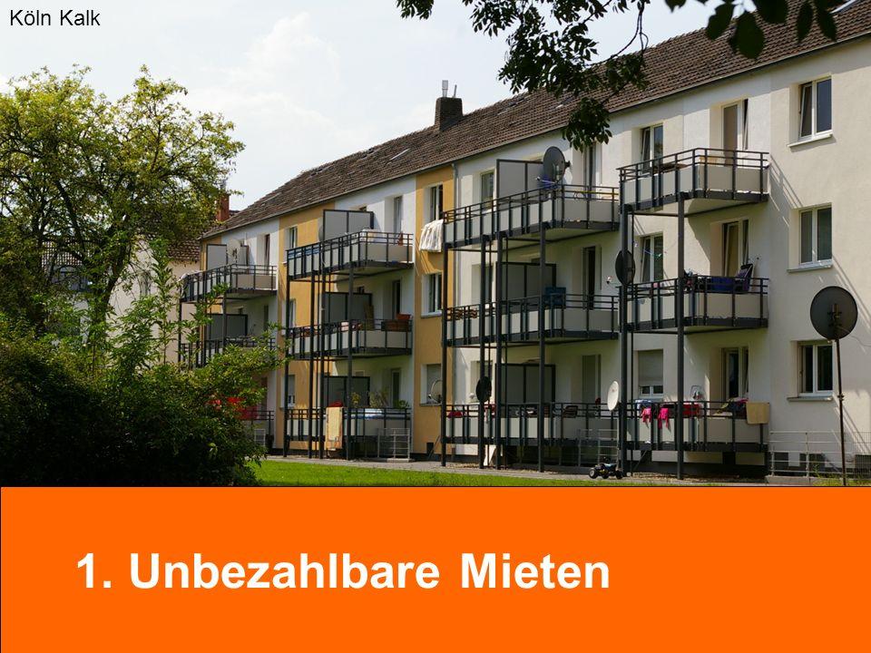 Köln Kalk 1. Unbezahlbare Mieten