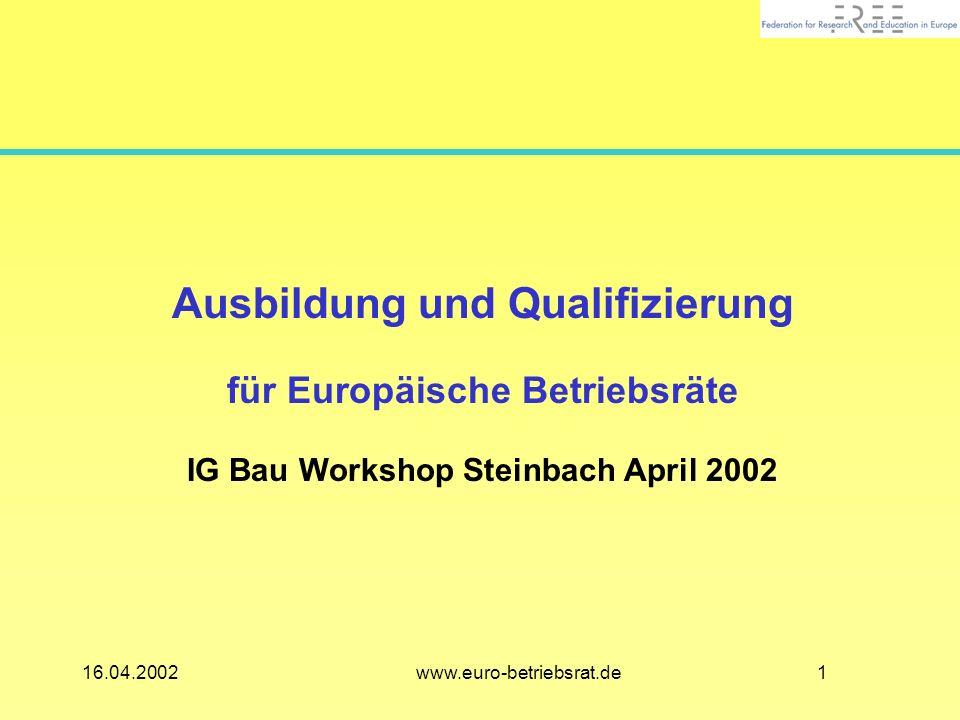 Ausbildung und Qualifizierung