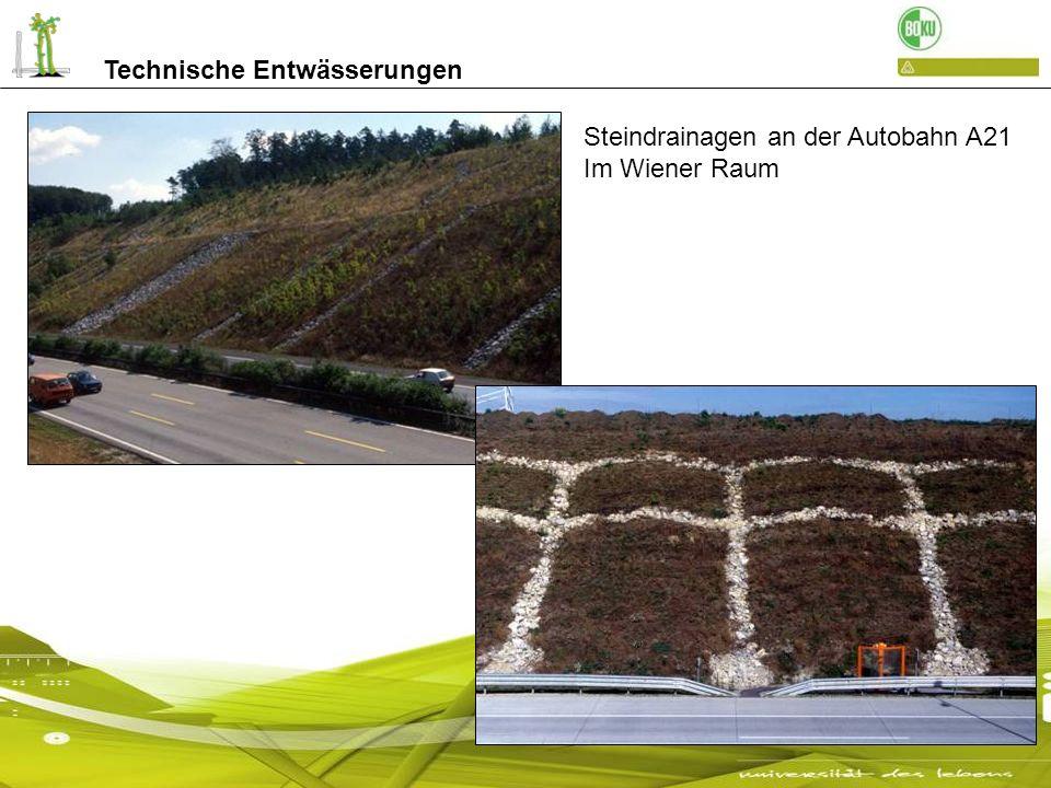 Technische Entwässerungen